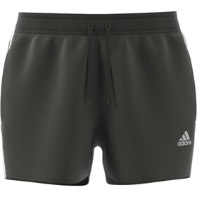 adidas 3S CLX VSL Shorts Hombre, legend earth